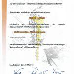 KMS GmbH Energis Präqualifizierung