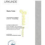 Mario Trebs Aufbaulehrgang Rohrleitungsbau