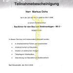 Markus Ochs Bauführer